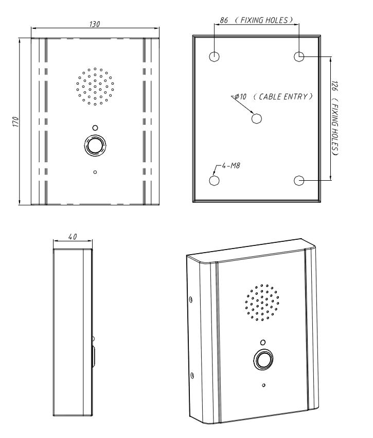 JR314-SC Telefono para Elevador