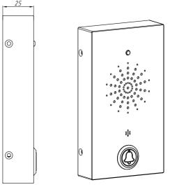 Telefono para Elevador JR505-SC