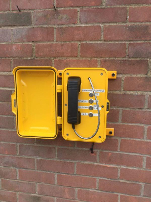 Telefono industrial 3B Botones programables para marcación rápida