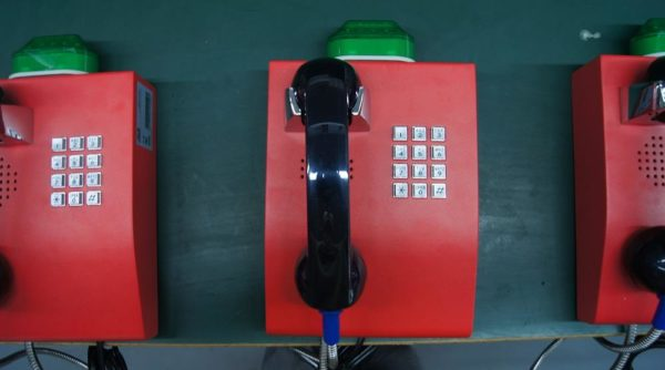 Telefono Antivandalico para bancos JR206-FK Vozell