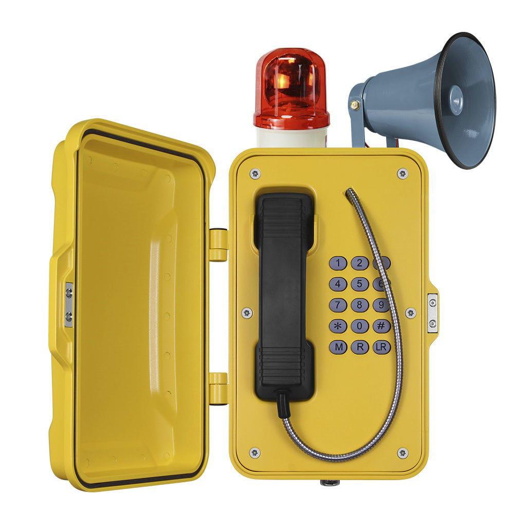 Telefon Industrial de Difusion Caracteristicas