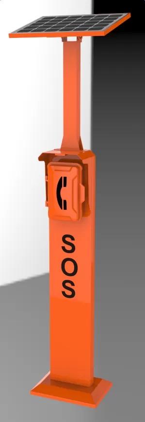 JR-TP-04 Torre para Telefono de Emergencia Vozell
